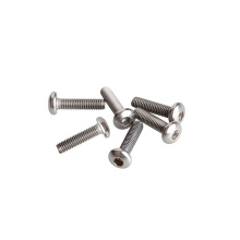 Titanium button head screw M5 M6